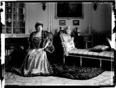 Countess Irma Andrássy, Princess Esterházy de Galántha by marriage, dressed for the coronation of Karl I of Austria