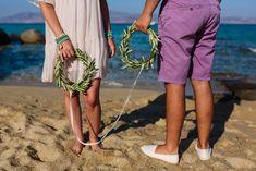 A Simple and Intimate Elopement Beach Wedding in Naxos Island, Cyclades Greece Naxos Greece, Greece Wedding, Wedding Photography, Italy, France, Island, Simple, Beach, Fashion
