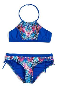 Zella Girl Two-Piece Swimsuit (Big Girls)