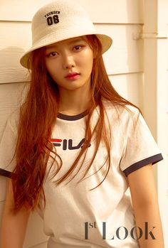 Actress Kim Yoo Jung worked with 'FILA' for her Look' photoshoot.FILA will be launching their 'FILA X PEPSI' collaboration item… Child Actresses, Korean Actresses, Korean Actors, Korean Star, Korean Girl, Asian Girl, Kim Yoo Jung, Look Magazine, Girls Magazine