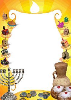 Chanukah Candle Stationery  ajudaica.com