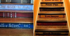 If You're A Book Worm, You're Going To Love These 32 DIY Home Projects.