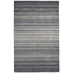 Graduated Striped Gray 6x9 Rug | Pier 1 Imports