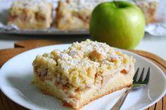 Das Rezept für den Apfelkuchen mit Pudding und Streuseln ist zwar etwas aufwendiger, aber dafür ein absoluter Gaumenschmaus.