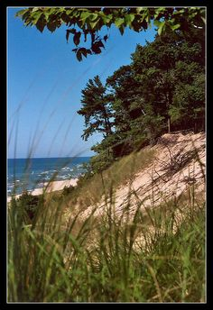 Muskegon, Michigan. I live all five lakes that surround this beautiful state.