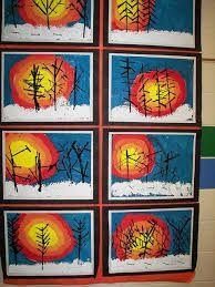 """Képtalálat a következőre: """"1st grade winter art"""""""