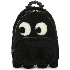 Anya Hindmarch Ghost Leather-trimmed Shearling Backpack In Black Anya Hindmarch Fashion, Must Have Items, Black Backpack, Fascinator, New Product, Fashion Backpack, Backpacks, Comfy, Cat