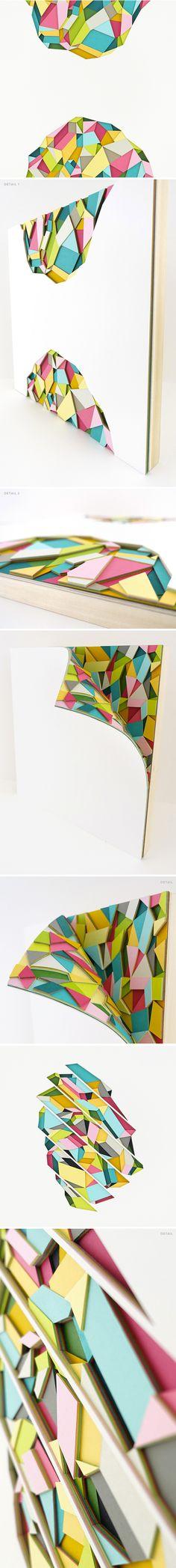 paper cutting work by huntz liu (paper!?)