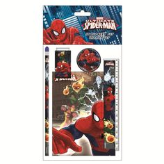 Assorted Ultimate Spiderman Stationary