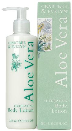 Crabtree and Evelyn Aloe Vera Hydrating Body Lotion 8.5 oz new