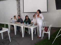 Mesa do ISER na RIO+20, com Chris Vital, sobre Religião e Direitos Humanos.