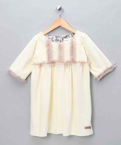 Off White Lily Dress - Infant, Toddler & Girls