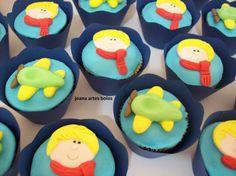 cupcakes o pequeno príncipe