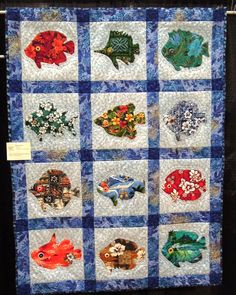 Quilt With Hawaiian fabrics
