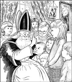 St. Nicholas Day, hidden pictures in the big picture, St Nicholas Center