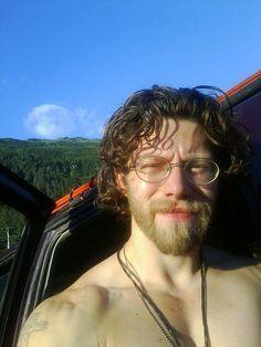 Bam Bam Brown. This man should never wear a shirt...Alaskan Bush People. Joshua Brown.