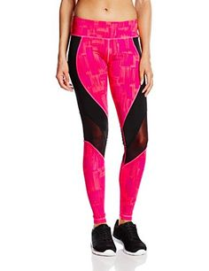 Zumba Women's Hyper Melt Mesh Long Leggings, Gumball, X-Small - Brought to you by Avarsha.com