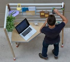 How cool is this standing desk?