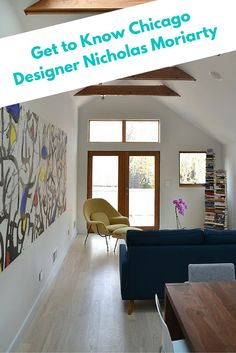 Get to know Chicago Designer Nicholas Moriarty - We sat down with Nicholas Moriarty to get to know the man behind these gorgeous spaces. #Blog #Interview #Chicago #Designer