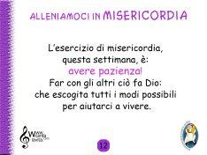 12_Allenarsi Misericordi III QUARESIMA