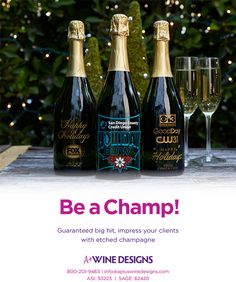 Can it EVER be too early for Christmas? Wine Design, Drinkware, Health And Wellness, Holiday, Christmas, Bottles, Champagne, Canning, Drinks