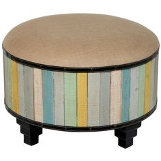 I se this in my remodeled bathroom someday.  I pinned this Cirque Ottoman from the Bedlow Park event at Joss and Main!