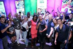 Scott Eastwood Photos - Actors Adam Beach, Joel Kinnaman, Scott Eastwood, Adewale Akinnuoye-Agbaje, Jay Hernandez, Jai Courtney, Karen Fukuhara, Viola Davis, Will Smith, and Margot Robbie of 'Suicide Squad' pose with fans during a meet and greet at the Samsung Experience at San Diego Comic-Con 2016 at Hard Rock Hotel San Diego on July 23, 2016 in San Diego, California. - The Samsung Experience at San Diego Comic-Con - Day 3