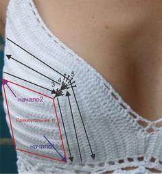 Pour aider à tricoter corsage | ВЕК ВЯЖИ - ВЕК УЧИСЬ | Постила