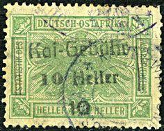 German East Africa (Tanganyika) 10 Heller c1900