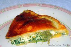 Torta salata ai carciofi e ricotta