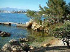 Cap d'Antibes: Mer claire et crique sauvage #visitcotedazur