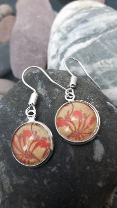 Japanese Paper Earrings