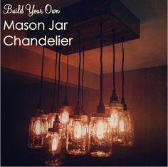 DIY Mason Jar Chandelier Part Two