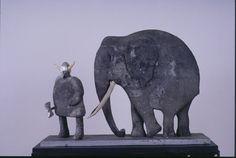 Statue représentant Hannibal et un éléphant de guerre http://www.roslindalestudio.com/hannibal.jpg