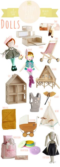 A Lovely Lark: Holiday Gift Guide 2012: Dolls