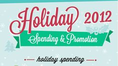 2012 Holiday spending and promo infographic - VerticalResponse blog