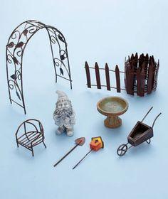 Fairy or Gnome Garden Kits