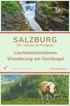 𝓔𝓲𝓷 𝓫𝓲𝓼𝓼𝓬𝓱𝓮𝓷 𝓑𝓮𝓻𝓰 𝓽𝓾𝓽 𝓲𝓶𝓶𝓮𝓻 𝓰𝓾𝓽 ... Einzigartige Natur 🍃 in St. Johann im Pongau: Von der Schönheit und Kraft des Wassers 💧 in der #𝓵𝓲𝓮𝓬𝓱𝓽𝓮𝓷𝓼𝓽𝓮𝓲𝓷𝓴𝓵𝓪𝓶𝓶 zu einem Alpenpanorama mit Blick in die Bergwelt der Hohen Tauern – bei einer #𝔀𝓪𝓷𝓭𝓮𝓻𝓾𝓷𝓰 𝓪𝓶 𝓖𝓮𝓻𝓷𝓴𝓸𝓰𝓮𝓵. // #madoreisen #madounterwegs👣 #unterwegsinösterreich #salzburg #wanderlust #landschaft #naturliebe Roadtrip, Salzburg, Wanderlust, News, Travel Scrapbook, Water, Landscape, Nature, Viajes