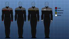 Star Trek Uniform Patterns