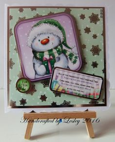^ x 6 Christmas card made using Let it snow card kit from Hunkydory. More details can be found at http://stampingbubbles.blogspot.co.uk/2016/10/herds-of-snowmen.html