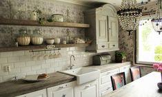 Nätti lamppu keittiös
