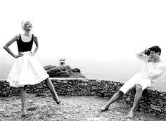 lets live this.  Gemma Ward and Josh Hartnett, Vogue US, November 2005