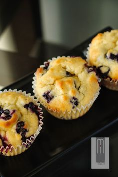 "Truly ""The Best"" Blueberry Muffins"