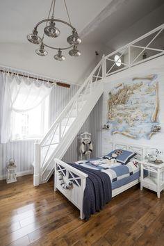 Детская комната в стиле Прованс для девочки или мальчика