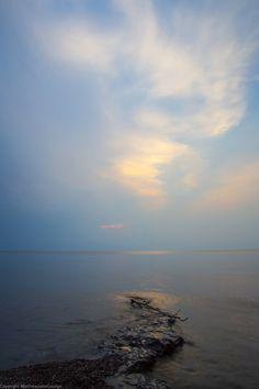 Lake Superior Dusk by RAIN2RIVER66.deviantart.com on @deviantART
