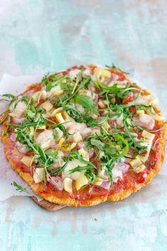 Pizzaboden aus Kokosmehl