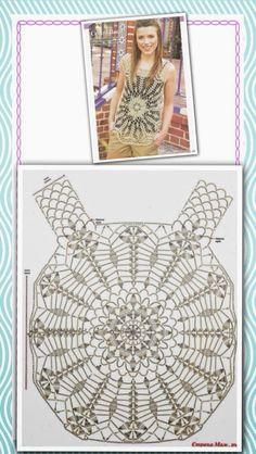 Luty Artes Crochet: blusas e boleros Débardeurs Au Crochet, Crochet Bolero, Crochet Video, Crochet Shirt, Crochet Diagram, Crochet Woman, Crochet Stitches, Crochet Patterns, Crochet Bikini