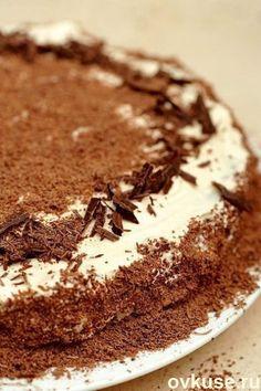 """Торт """"Мокко"""" / Простые рецепты"""