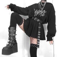 9.99US $ 25% OFF Harajuku Sweatshirts Ladies Warm Gothic Streetwear Punk Women Hoody Horror Fashionable Casual Simple Letter Printing Hoodies & Sweatshirts    - AliExpress