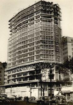 Ed. Andraus em construção